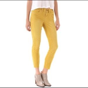 Madwell mustard corduroy jeans 27